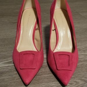 Fushia Pink Pumps